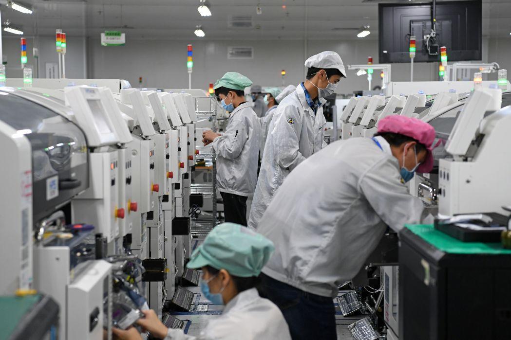 """习近平总书记关切事   """"世界工厂""""的机器声逐渐响起来 -"""