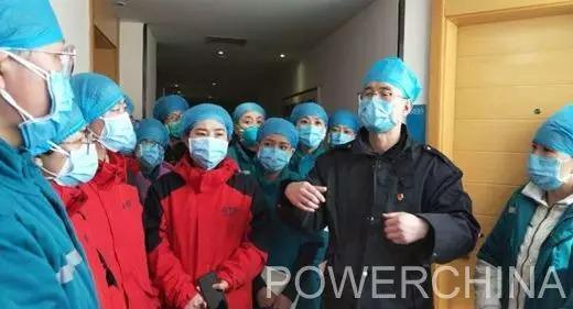 水电十一局黄河三门峡医院援鄂医疗队在抗疫一线