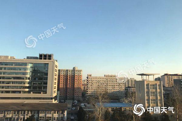 北京今日北风劲吹阵风7级 后天至周末一路向暖