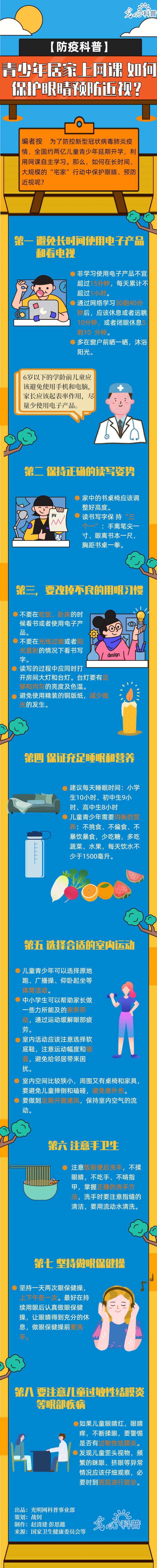 北京助孕青少年居家上网课 如何保护眼睛预防近视?