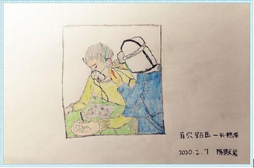 """【漫画】这位护士的手绘""""援汉日历""""火了!"""