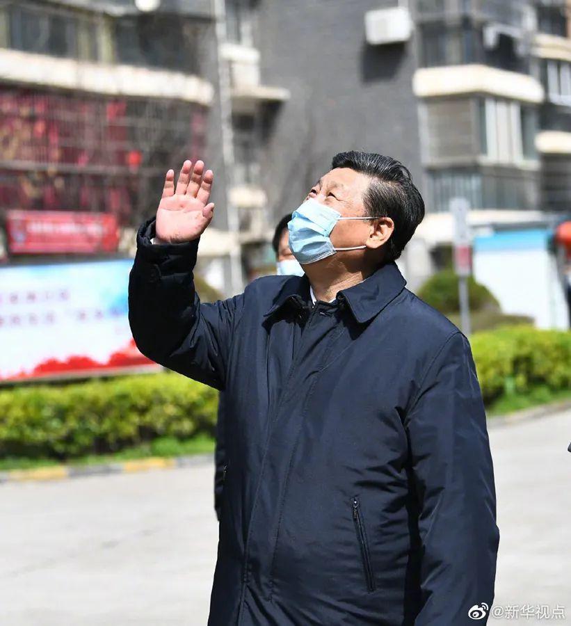 """习近平考察武汉微镜头viki郭希:""""谁愿意老闷在家里啊!"""""""
