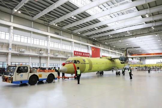 """喜讯!""""新舟""""700静力试验机在西安交付"""
