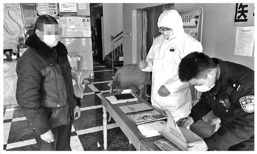 90后民警刘旭:与隔离人员处成亲人