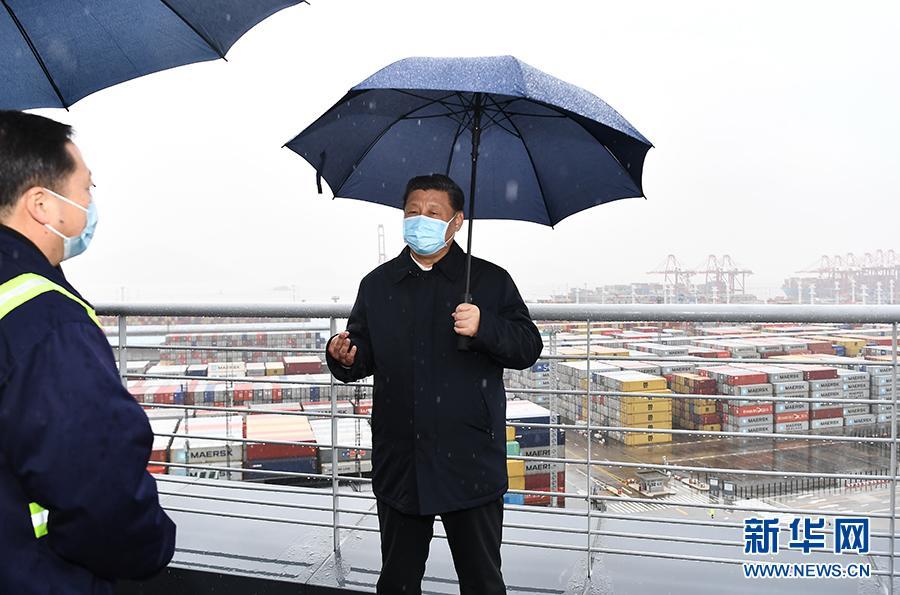 记习近平总书记在浙江调研疫情防控和复工复产