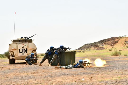维和在马里:经历真实的恐怖袭击 做好随时射击准备