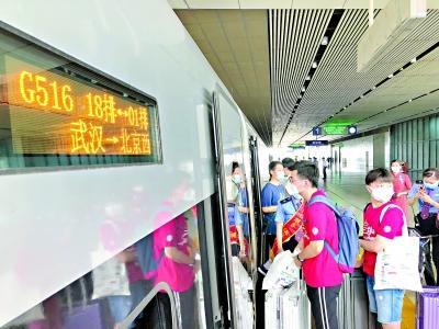 武汉始发赴京旅客列车陆续恢复