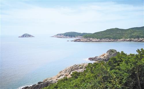 浙江省舟山市普陀区:海岛奏响蓝绿交响曲