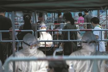 北京社区里的防疫战