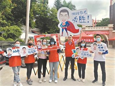 8万余名考生昨参加深圳中考
