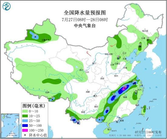 """长江流域雨势逐渐减弱 江南华南闷热持续""""发酵"""""""
