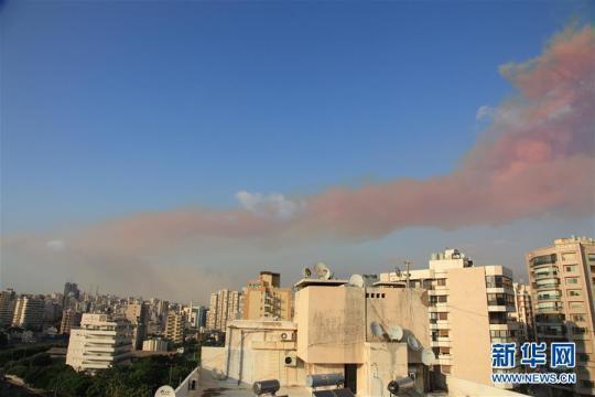 (国际)黎巴嫩首都贝鲁特发生爆炸