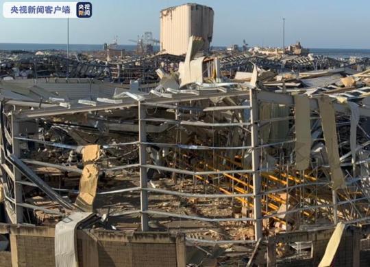 黎巴嫩贝鲁特爆炸 军队警告媒体市内禁用无人机拍摄