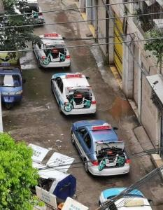 出租车围追堵截 共享电单车投放这个县城遇阻