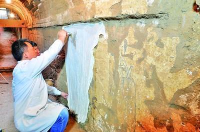 珍贵壁画重现唐代生活场景