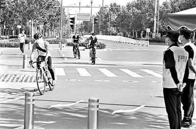 北京自行车专用路将设儿童骑行时段