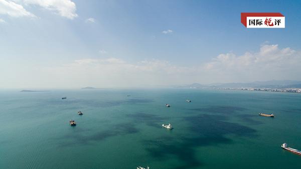 """美国政客说白了""""中国加重南海地域焦虑不安局势"""""""