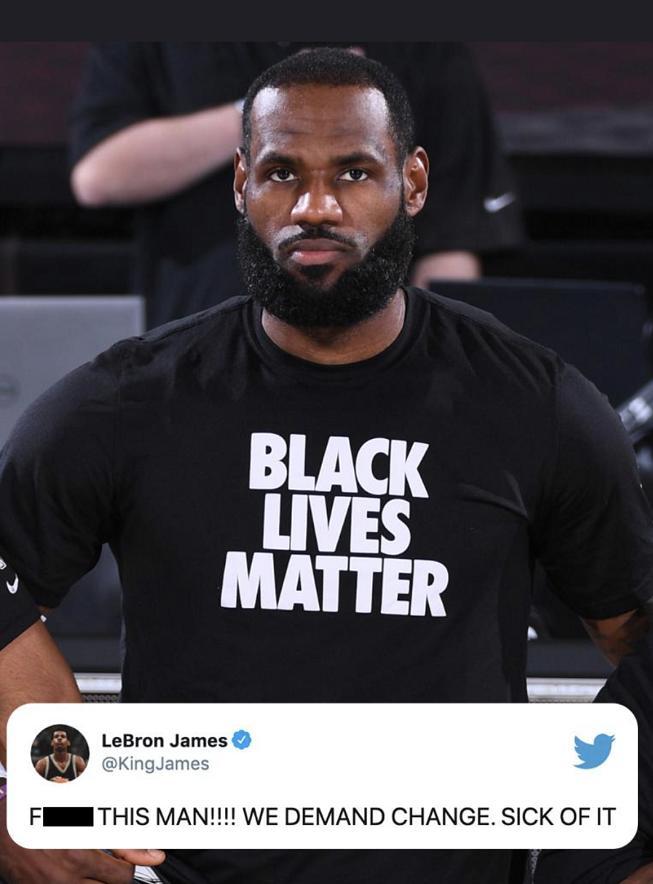 罢赛|美国体育界掀反种族歧视浪潮:我们要求改变