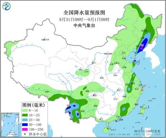 辽宁山东等局地有暴雨 华南等地大范围高温持续
