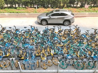 城市现有停车位无法满足城市现有共享单车及私人车辆停放需求