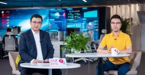 联想集团高级副总裁童夫尧赴人民日报社新媒体中心参观交流
