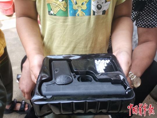 """<b>一起玩具枪入刑案件""""重启""""  卖的究竟是玩具还是枪?</b>"""