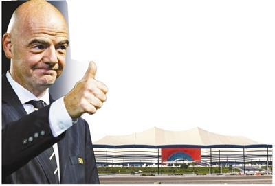 肺炎疫情期内如期完成工程进度卡塔尔各世界杯场所陆续峻工