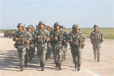 第八十集团军某合成旅驻训练兵掠影n97主题