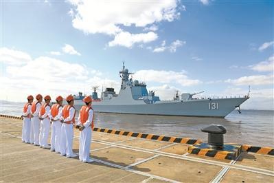 全程170天不靠港休整 中国水师第35批护航编队凯旋