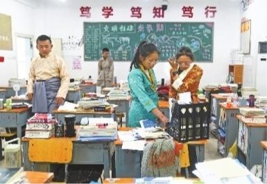 """武汉西藏中学""""山南班""""42名新生入校"""