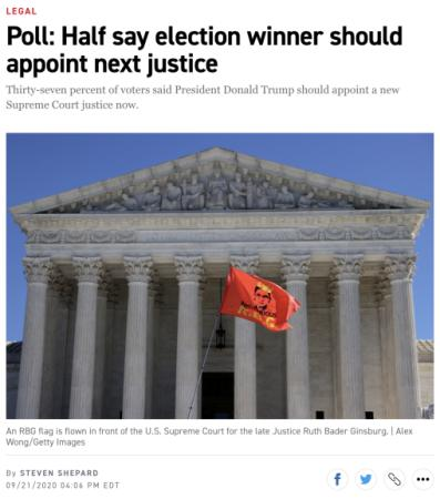 世界周刊丨美国大选进入决胜期 大法官听证会引发争议