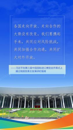 新华网评:以共同开放推动世界共同发展图片