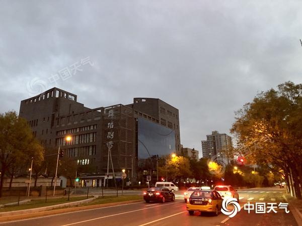 """北京今明天气温仍""""一蹶不振"""" 夜间最低气温或降至冰点以下"""