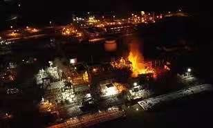 美国西弗吉尼亚州化工厂爆炸 致4人受伤