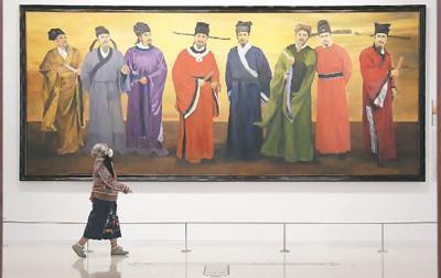 唐宋时期 廖波的年终展览和展览热潮进入八人世界