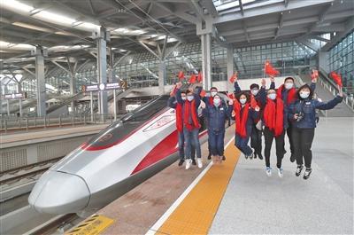 雄安站首发列车42分钟到北京西