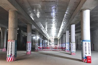 三站封顶 北京地铁冬奥支线拟明年底通车