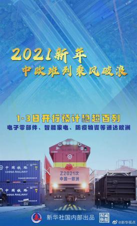 <font color='59'>华宇娱乐手机版注册网站:2021年元旦假期中欧班列预计开</font>
