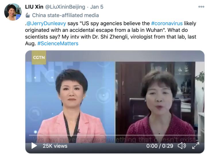 "CGTN刘欣与西方媒体人的又一次论辩:请拿出""不可争辩""的证据!"