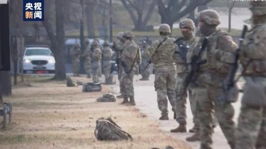 严防潜在暴力风险!美国华盛顿多个核心区域重兵把守