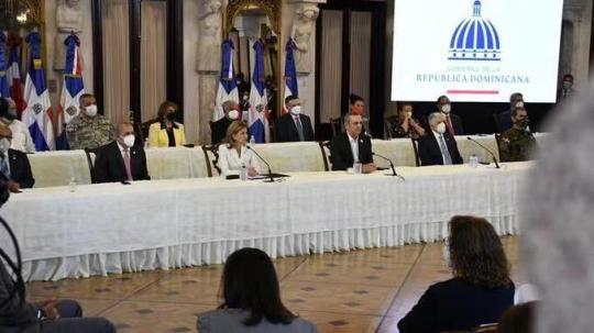 多米尼加介绍本国疫苗接种计划 总统称赞中