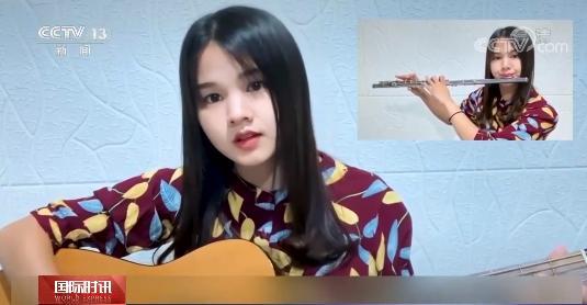 """学汉语、写对联、画国画……这个泰国女孩如此""""宝藏"""""""