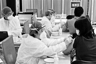"""北京春节新冠疫苗接种""""不打烊"""""""