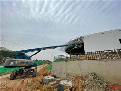 熊猫基地改扩建项目复工了