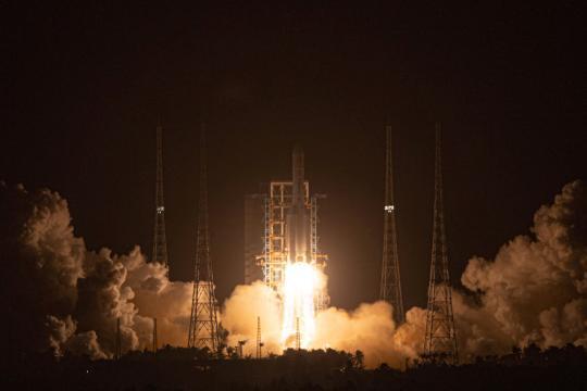 九天云外揽月回!——探月工程嫦娥五号任务