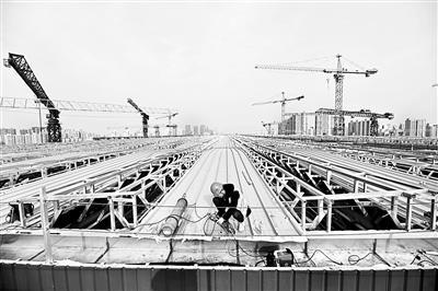 记者探访北京重点工程进展现场 力保第一季度开门红