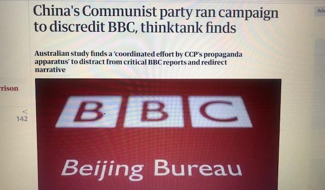 外国媒体憎恨中国吗?英国人自己说出了真相