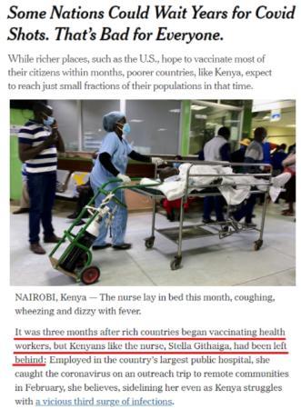 """还在搞""""疫苗民族主义""""?!这些国家又被狠狠敲2019最新国产不卡a打了"""