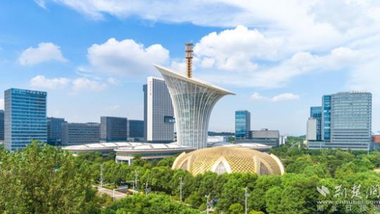 全国网络媒体湖北行探访中国光谷