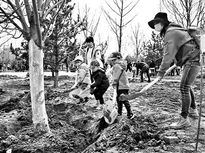 北京:今春以来121万市民参与义务植树